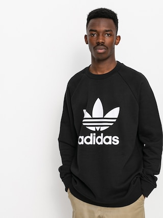 Mikina adidas Originals Trefoil (black/white)