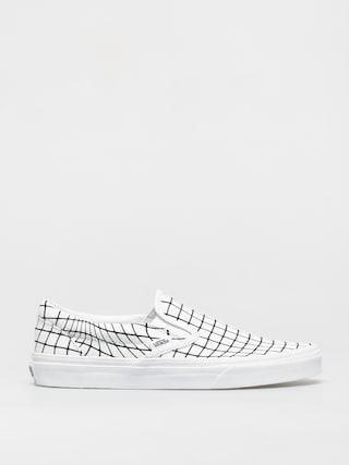 Topánky Vans Classic Slip On (u paint/warpcheckerboard)