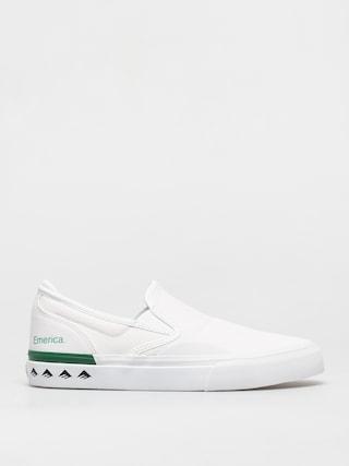 Topánky Emerica Wino G6 Slip On (white/green)