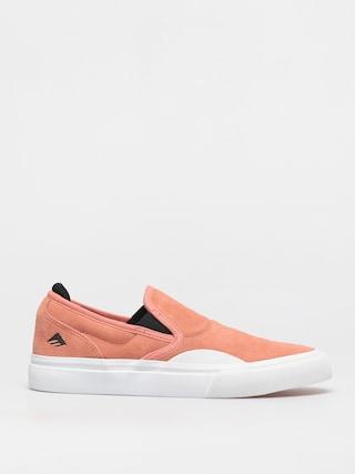 Topánky Emerica Wino G6 Slip On (pink/white)