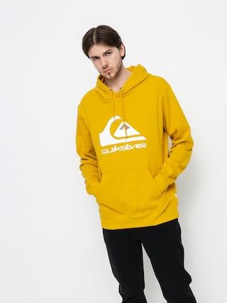 Mikina s kapucňou Quiksilver Big Logo HD (nugget gold)