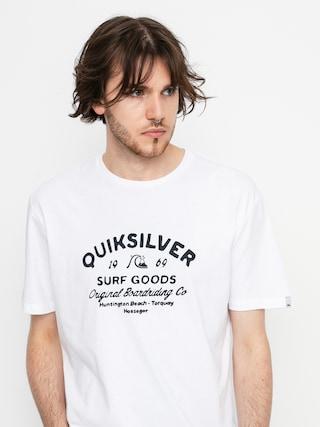 Tričko Quiksilver Closed Caption (white)