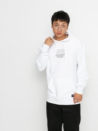 Mikina s kapucňou Vans Sequence HD (white)