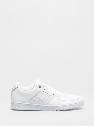 Topánky eS Accel Slim (white/white)