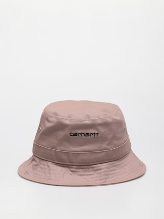 Klobúk Carhartt WIP Script (earthy pink/black)