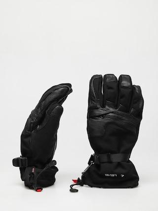 Rukavice Level Ranger Leather (black)