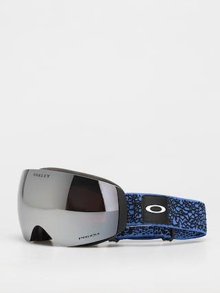 Snowboardové okuliare Oakley Flight Deck M (primary blue crackle/prizm snow black)