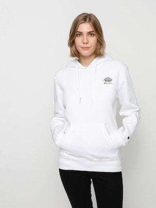 Mikina s kapucňou Champion Sweatshirt HD 114694 Wmn (wht)