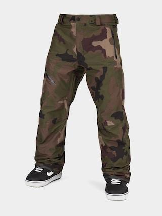 Snowboardové nohavice Volcom L Gore Tex (dark camo)