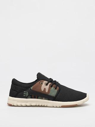 Topánky Etnies Scout (black/camo/olive)
