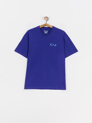 Tričko Polar Skate Stroke Logo (purple)