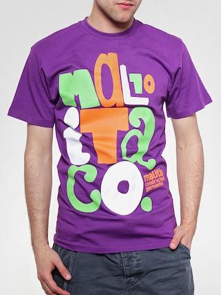 Tričko Malita Cut (violet)
