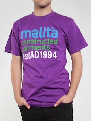 Tričko Malita Constructed (violet)