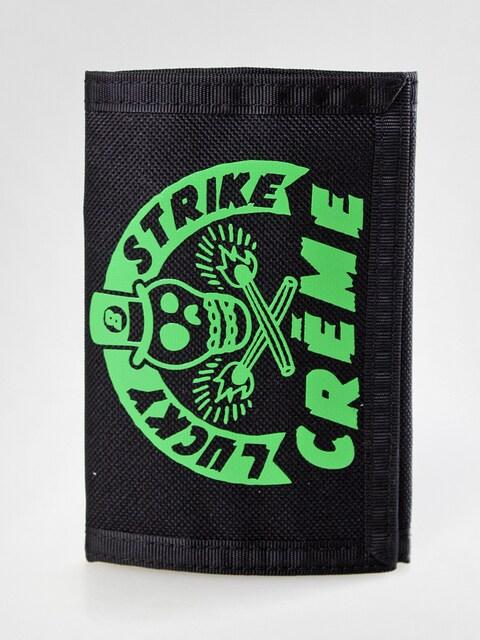 Peňaženka Creme 01 (black/green)