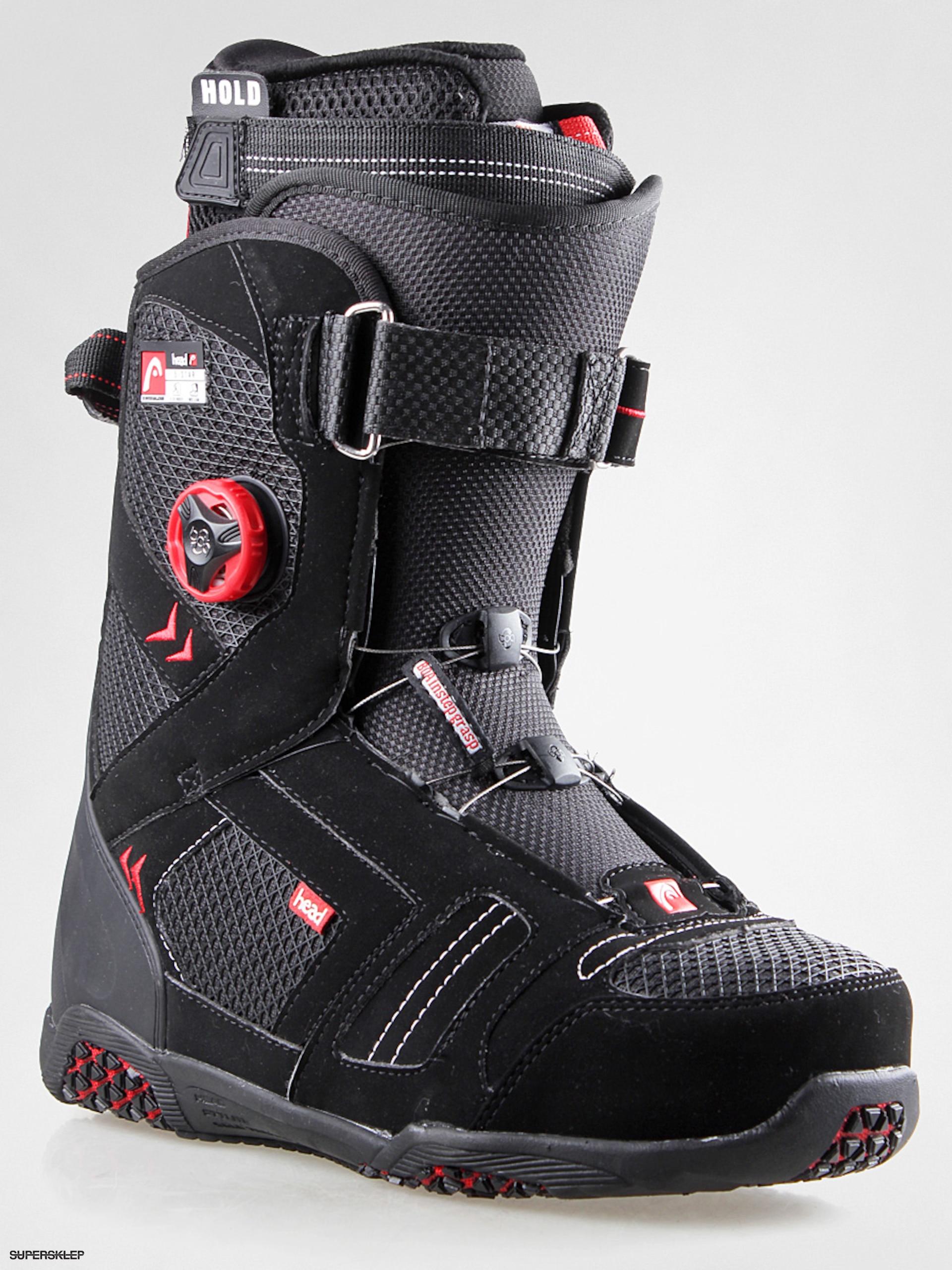 bc3d83754b5b Snowboardové boty Head 5 Star Boa Instep Grasp Wmn (black)