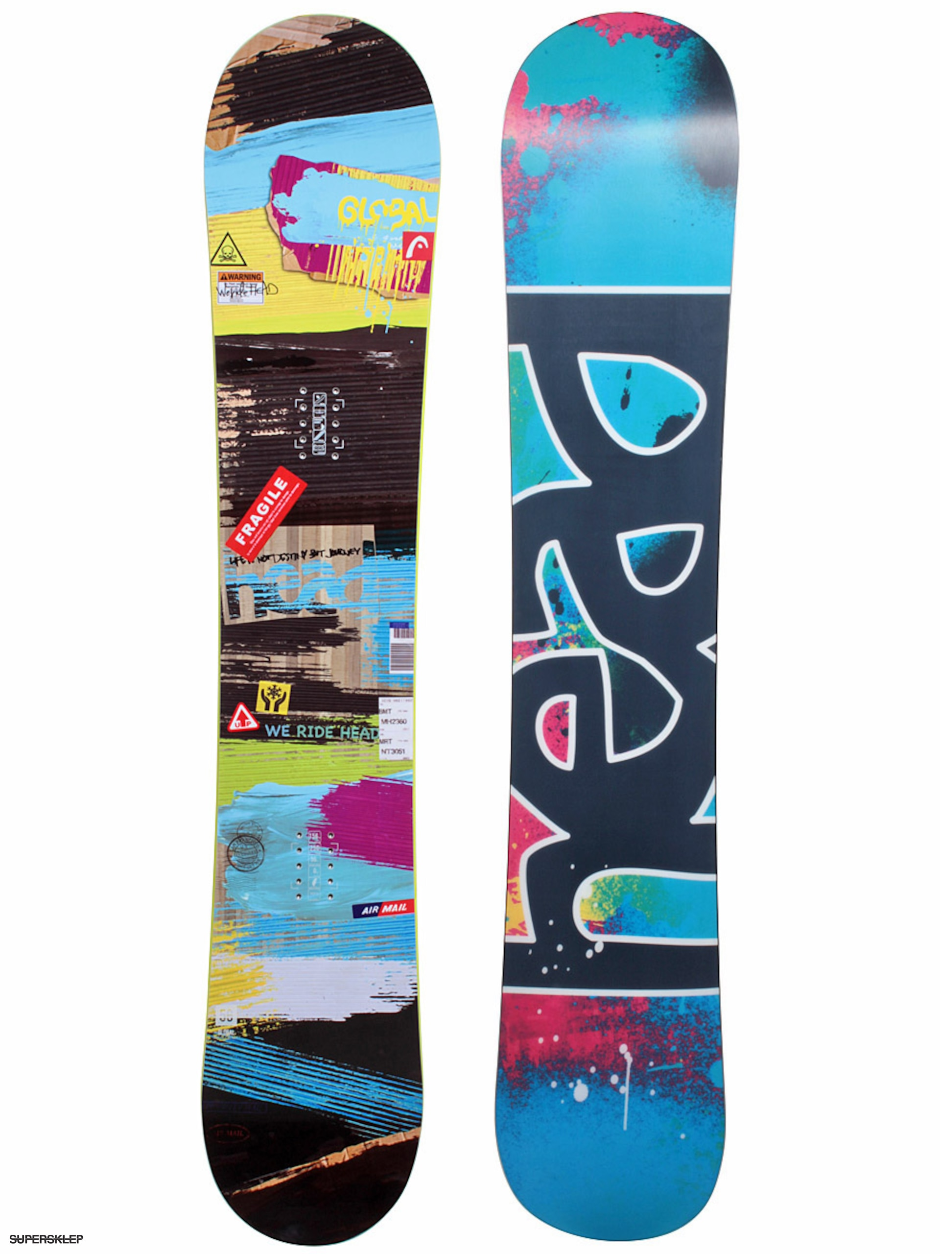 e3e45d5fa Snowboard Head Global Rocka
