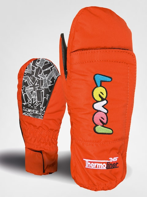 Detské rukavice Level Super Baby Mitt (red)