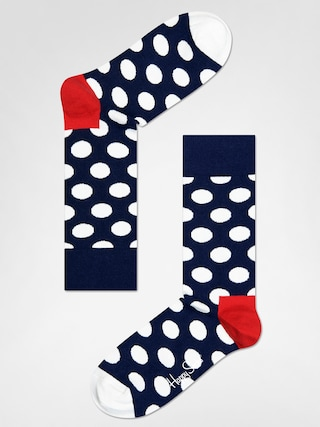 Ponou017eky Happy Socks Big Dot (navy/red/white)