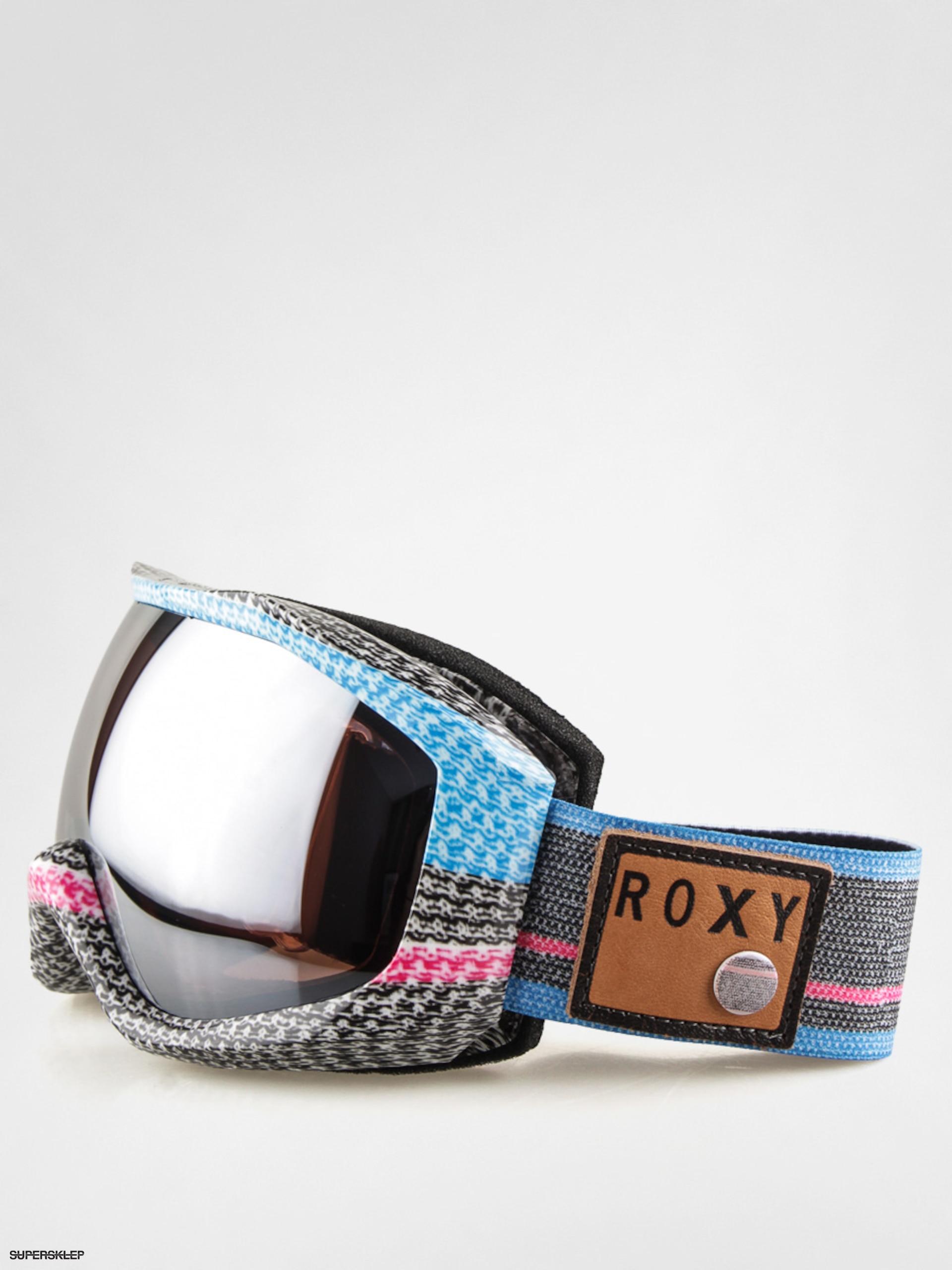 3c272d380 Okuliare na snowboard Roxy Sunset Art (wool/amber rose super silver mirror)