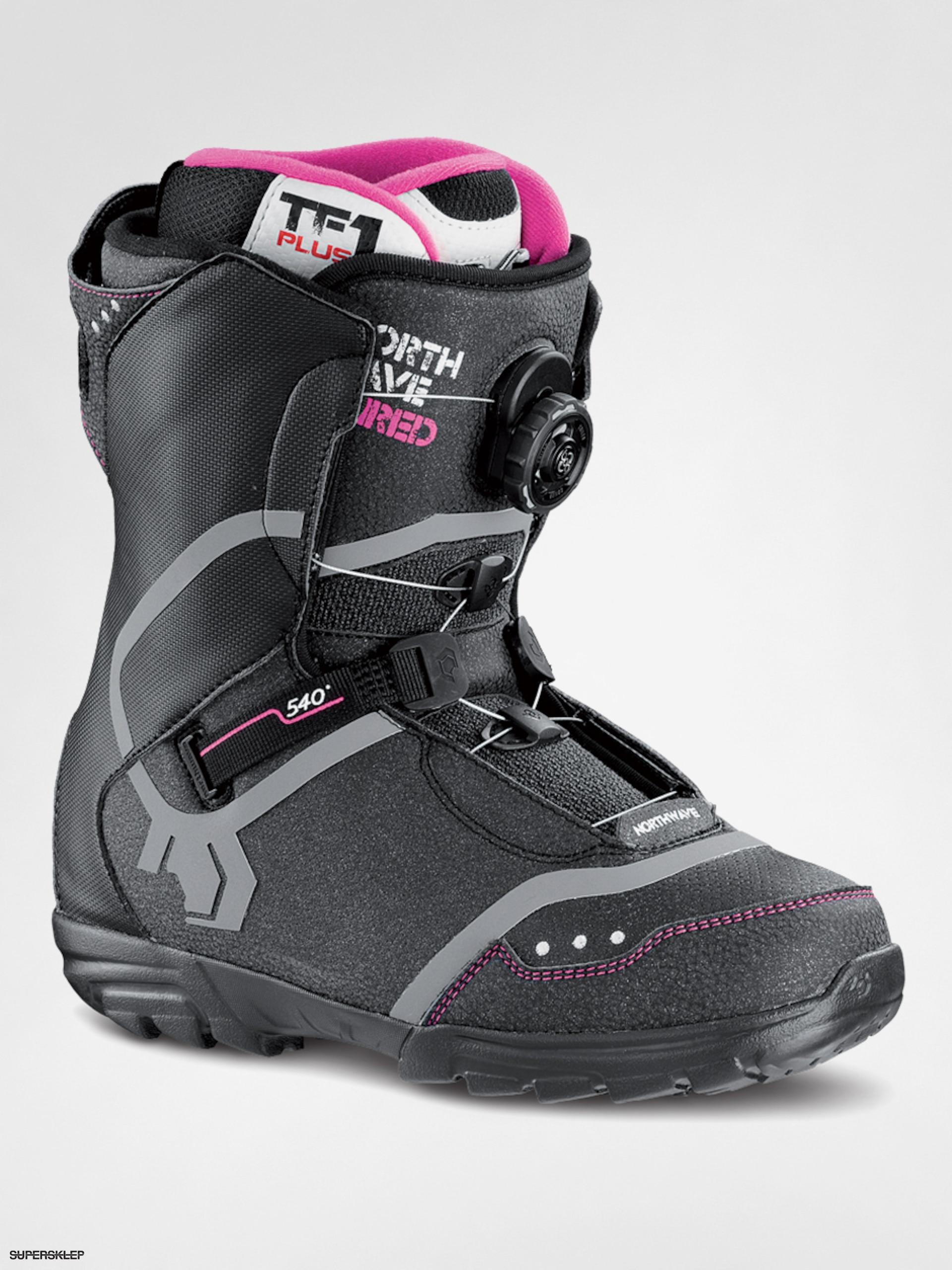 Snowboardové boty Northwave Dime Wmn (black pink) 26056fb2192
