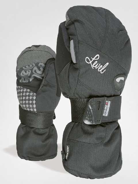 Rukavice Level Half Pipe W Mitt Gore Wmn (blk)