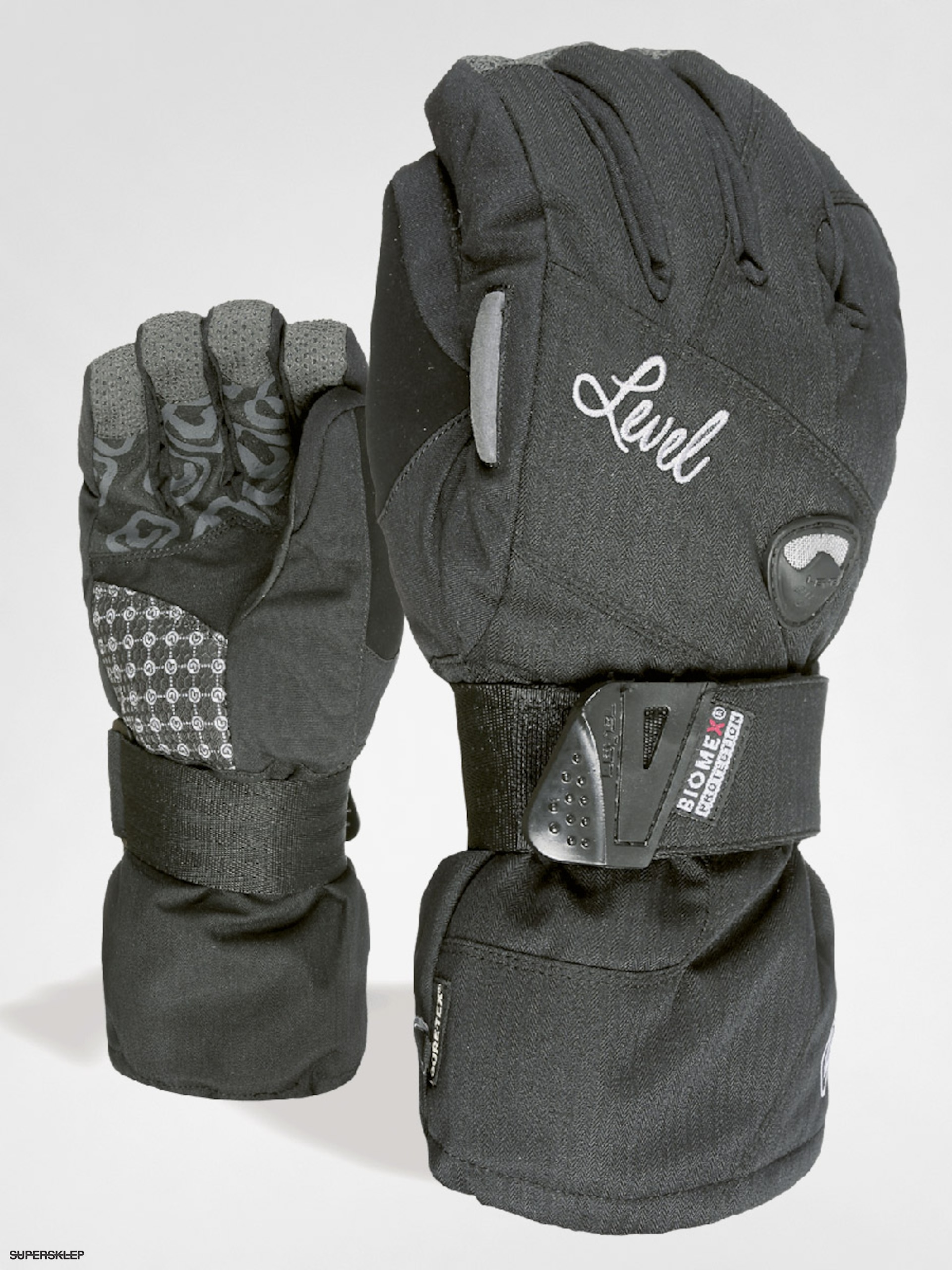 Rukavice Level Half Pipe W Gore Tex Wmn (black)