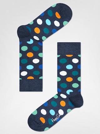 Ponožky Happy Socks Big Dot (washed navy/multi)