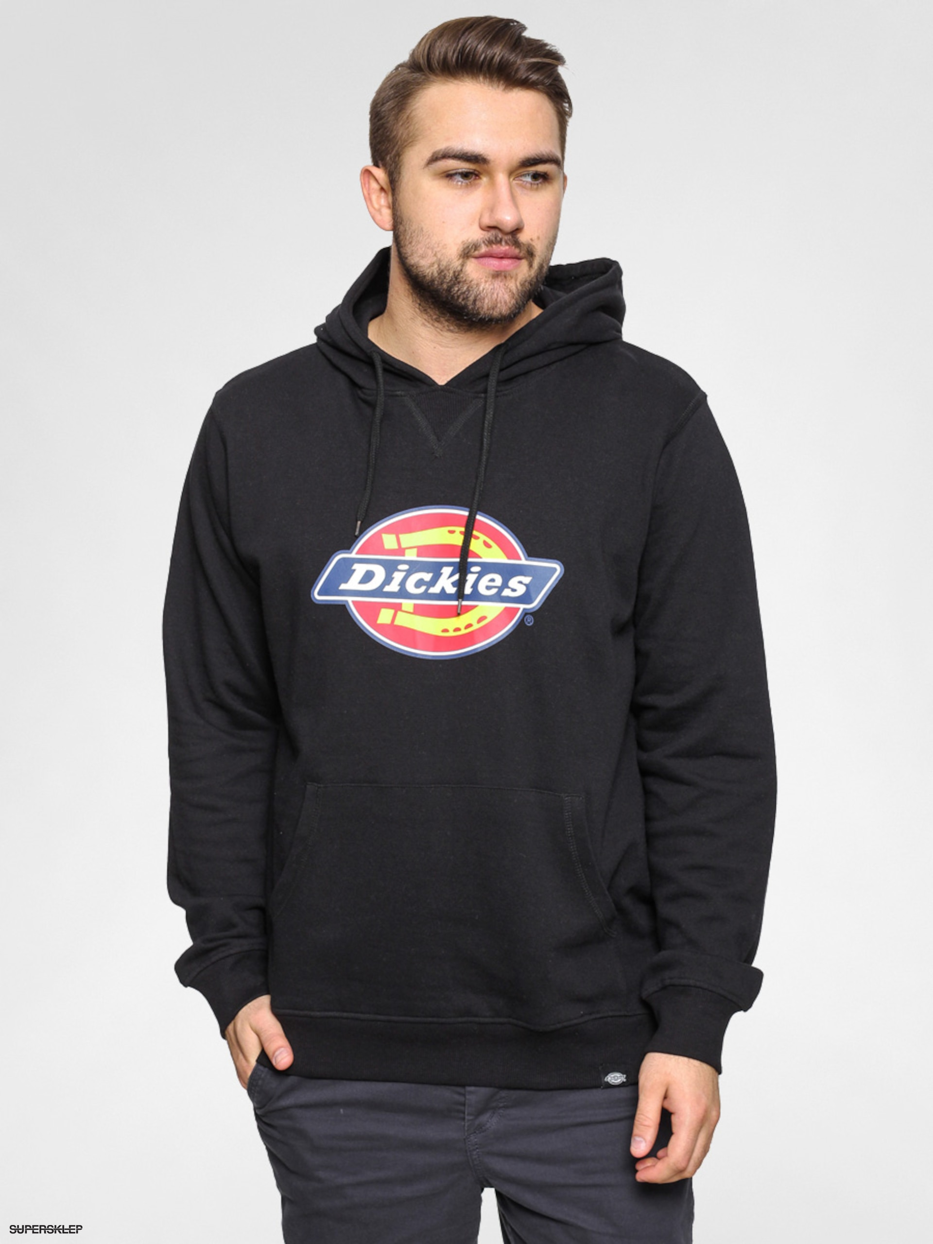 Mikina s kapucňou Dickies Nevada HD (black)