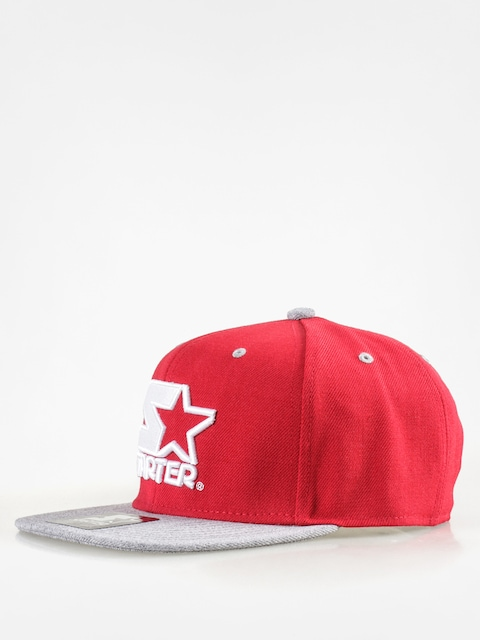 Šiltovka Starter Icon 3 Tone Sb ZD (red/grey heather)