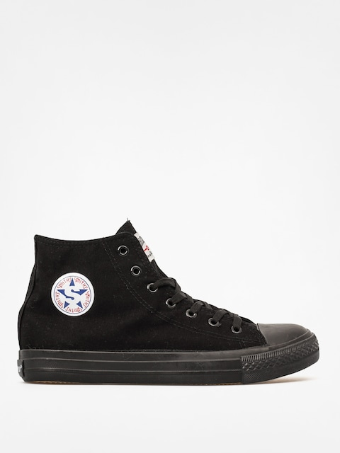 Topánky Smith's Mas 001 Wys (all black)
