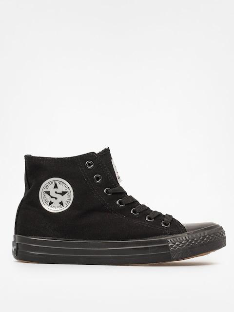 Topánky Smith's Mas 002 Wys (all black)