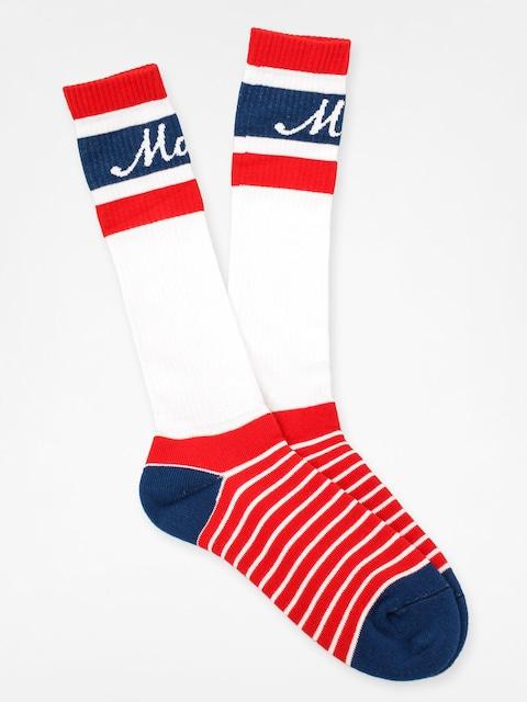 Ponožky Malita Logo Long (blue stripe)