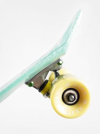 Fish Skateboards Cruiser 02 (mint/yellow/silver)