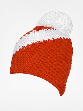 Čiapka Level Stripe (white/red)