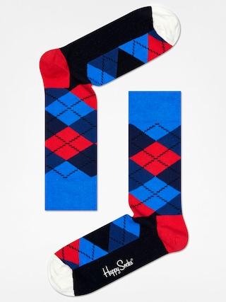 Ponou017eky Happy Socks Argyle (blue/navy/red/black/white)