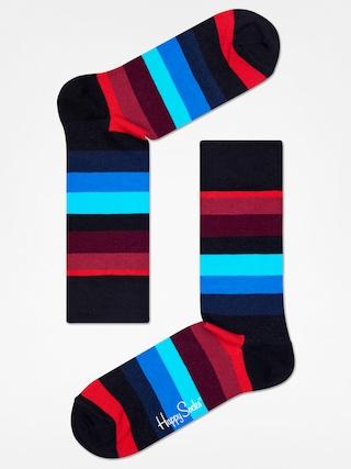 Ponou017eky Happy Socks Stripe (black/red/blue)