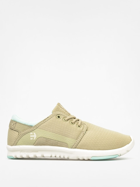 Topánky Etnies Scout Wmn (olive/white)