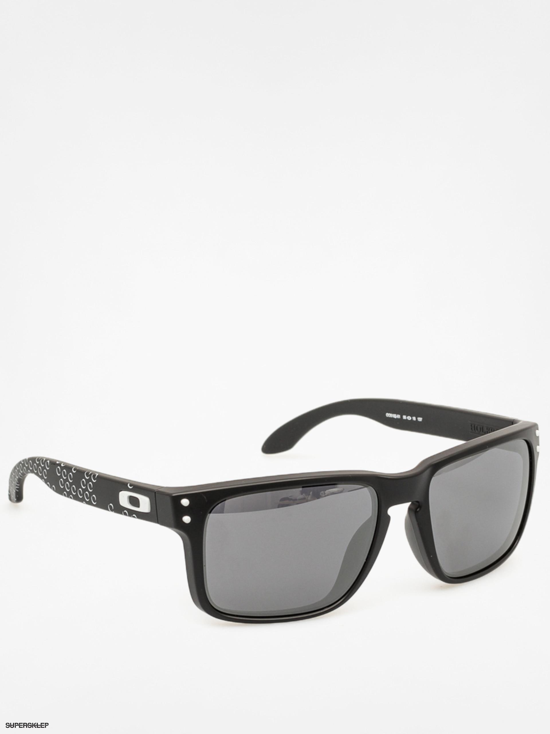 Slnečné okuliare Oakley Holbrook (matte black print black iridium) ed4dd4c66b4