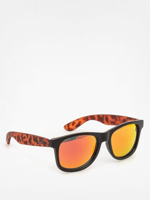Slnečné okuliare Majesty Shades L (black/torroise red lenses)