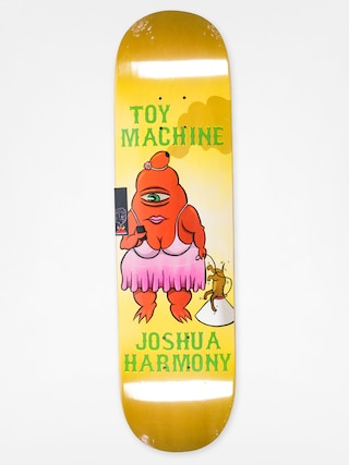 Doska Toy Machine Josh Harmony Fat Sect (yellow)