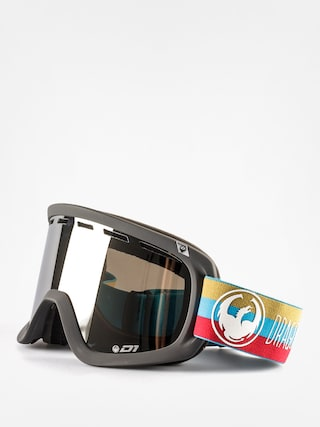 Okuliare na snowboard Dragon D1 Two (layer/mirror ion+yell/red ion)