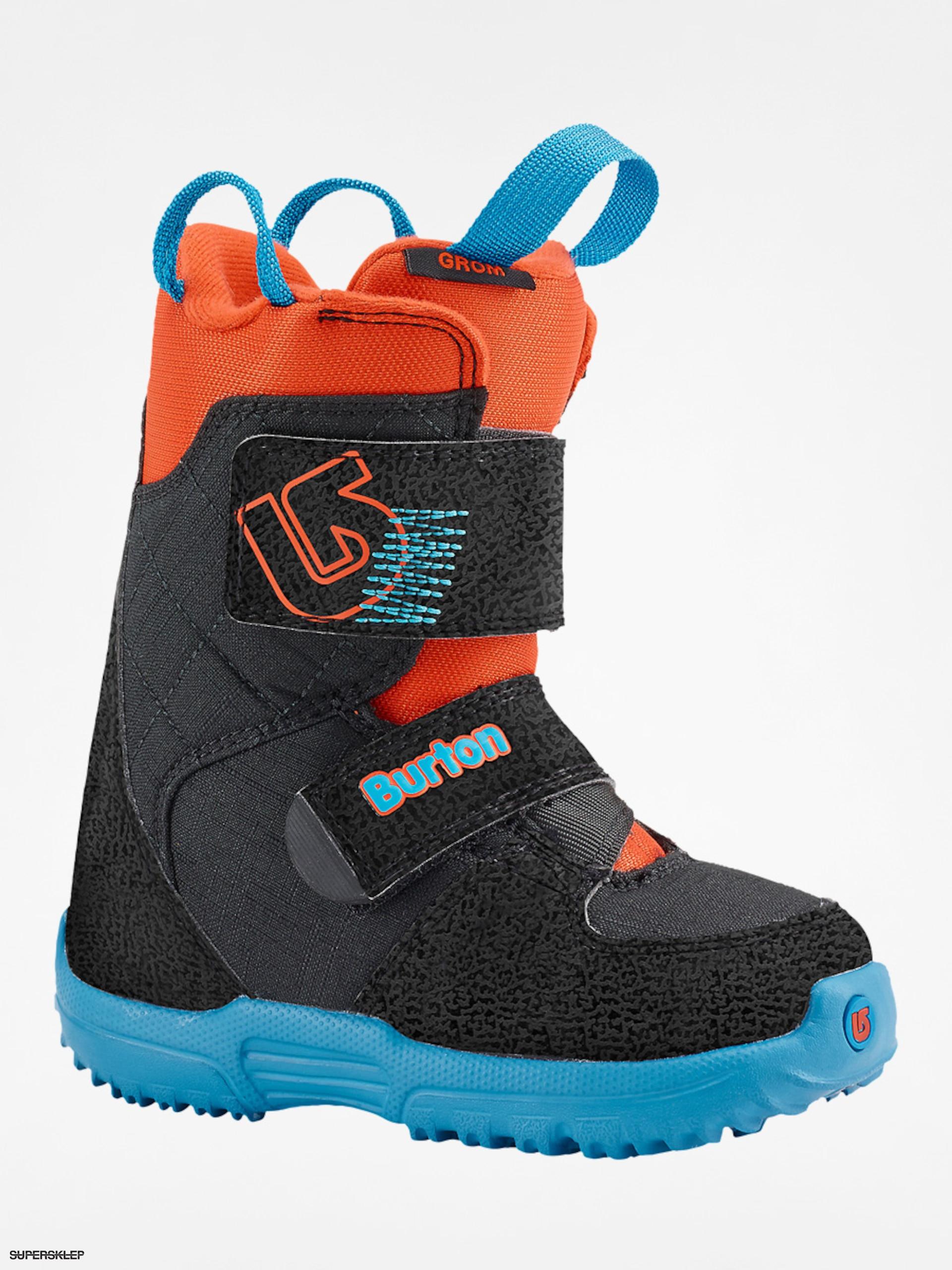 Detská obuv na snowboard Burton Mini Grom (webslinger blue) 5b69eaa2b55