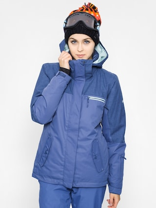 Snowboardová bunda Roxy Jetty Solid Wmn (steel blue)