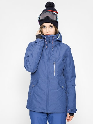 Snowboardová bunda Roxy Wildlife Wmn (steel blue)