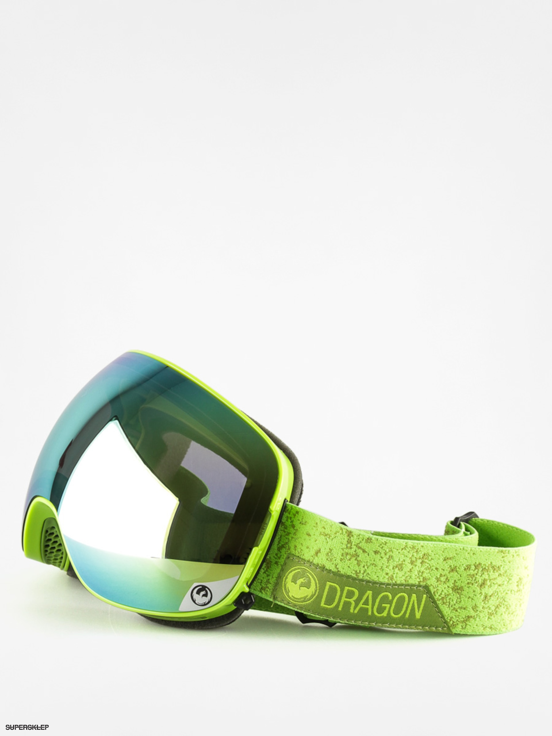 Okuliare na snowboard Dragon X2 (stone green smoke gold ion/yellow red ion)
