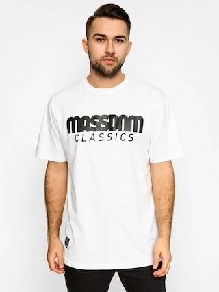 Tričko MassDnm Classics (white)