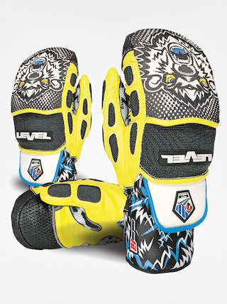 Rukavice Level Worldcup CF Mitt (black/yellow)
