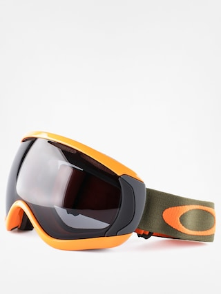 Snowboardové okuliare Oakley Canopy (herb orange w/dark grey)