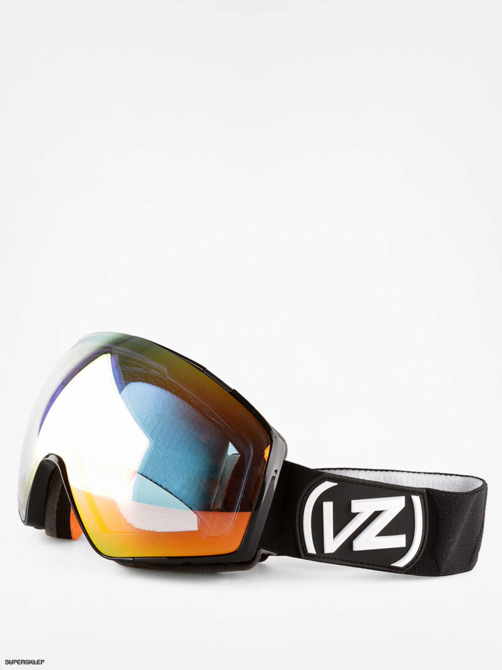 20202183d Snowboardové okuliare Von Zipper Jetpack (black gloss/clear chrome orange)