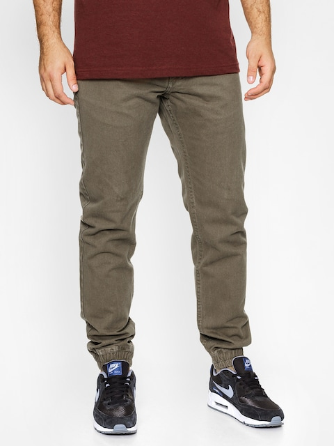 Nohavice MassDnm Signature Jogger Sneaker Fit (olive green)